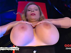huge bosoms duo spunk festival - German Goo chicks