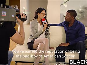 BLACKED very first bi-racial For Spanish babe Alexa Tomas
