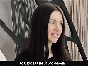 HER restrain - raunchy ass fucking and face penetrate with Sasha Rose