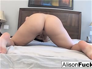 Alison Tyler plays with her vag
