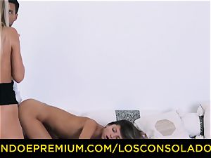 LOS CONSOLADORES - Russian Gina Gerson pummeled in FFM
