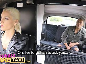 lady fake cab gigantic ebony manhood internal ejaculation
