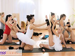 fitness apartments petite ballet masters secret threeway