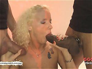 lovely Lucie luvs Monster fuck-sticks - German Goo girls