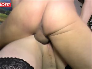 LETSDOEIT - plump girl Gets romped firm On sex tape