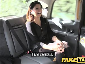 faux taxi fat facial cumshot jizm shot for brunette in pantyhose