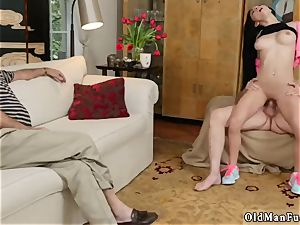 dormitory femmes and harsh elder man young first time Dukke the Philanthropist