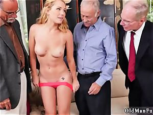 older girl butt and milf pummeling Frannkie And The gang Tag squad A Door To Door Saleswoman