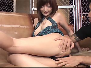 Riona Suzune plumbed in the twat and creamed well