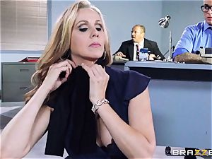 magnificent chief Julia Ann gets a double creaming