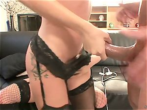 ultra-kinky Tory Lane gives Amy Brooke a double dipping