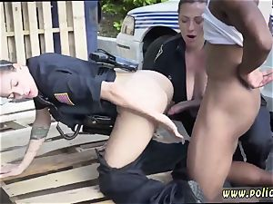 sumptuous huge booty milf and romps junior dude I will catch any perp with a humungous black pink cigar,