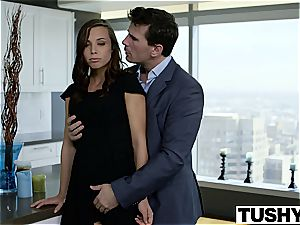 TUSHY secretary Aidra Fox smashed in the culo