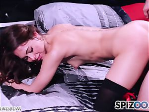 Retro pornography with a youthful rock 'n' spin student Riley Reid