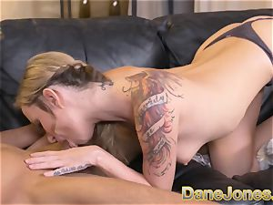 Dane Jones thick melons blond Angel Piaff messy fellatio