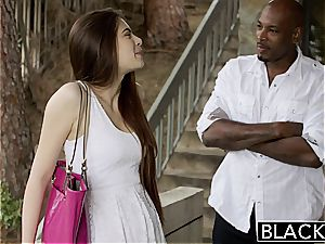 BLACKED first-ever bi-racial For Pretty girlfriend Zoe prick