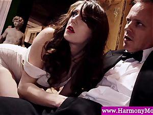 Servants providing a sexshow for their perverted teachers