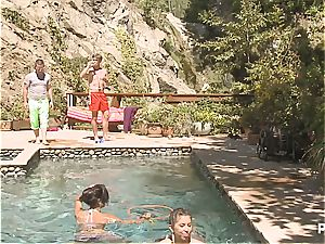 insane poolside fun part two