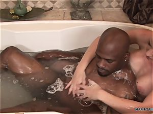 ultra-kinky blondie luvs black man rod