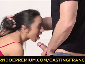audition FRANCAIS - smallish honey romped in first audition