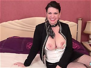 La Cochonne - super-fucking-hot slit and bum pulverize with French mature