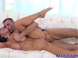 Big-titted bitch gets romped