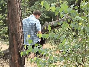 german nubile screwed in the forest