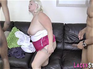 grandmother rump humped in 3way