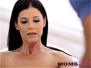 Moms instruct hook-up - luxurious mother exchanges spunk with daughter-in-law