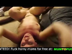 super-steamy mommy squealing in pain!