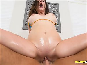 munching puss pie with Ashley Adams
