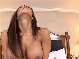 hot Latina fledgling mummy very first timer