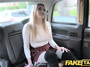 fake taxi great poke anal fucky-fucky and humungous facial for platinum-blonde