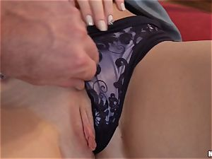 Cleaner Kendra star caught tugging by the manager