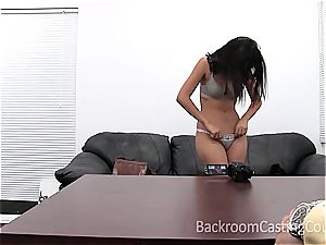 fledgling bombshell Iris prepped for her first-ever anal invasion tearing up