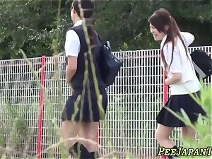 chinese college girls piss