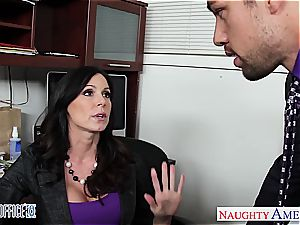 super-naughty Kendra enthusiasm works her way up the corporate ladder
