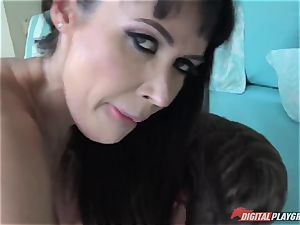 horny mature housewife Eva Karera - Titfucked and fuck-fest with youthful discreet schoolgirls