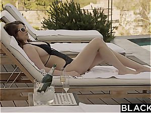 BLACKED girlfriend Karina milky Cheats with big black cock on Vacation