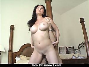red-hot molten mummy Raquel Devine devours penis