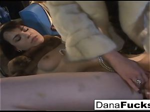 Dana gargles prick and gets finger drilled