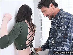 roughly boned nubile by her daddy's friend