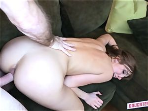Alexa mercy fucks her greatest pals daddy
