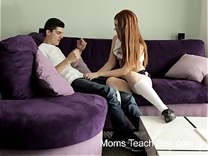 Syren Demer wild mother trains stepdaughter