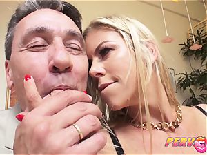 cougar Alexis Fawx unloads All Over Steve's thick knob