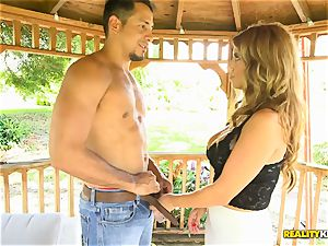 Mia Ryder getting her cougar honeypot jammed hard