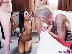 timid cumshot Staycation with a latin sweetheart