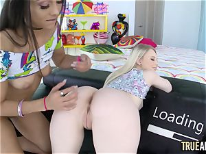 TRUE assfuck anal tag squad with Lilly Hall and Lily Rader
