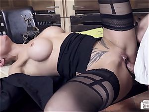 butts BUERO - steamy German cougar pokes chief at the office