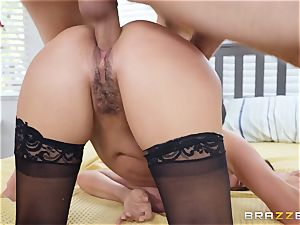 mind-blowing stunner Ariella Ferrera banged stiff